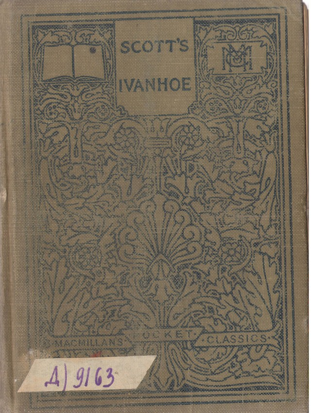 Scott, Walter. Ivanhoe. Ed. by Alfred M. Hitchcock. – N. Y., 1913.