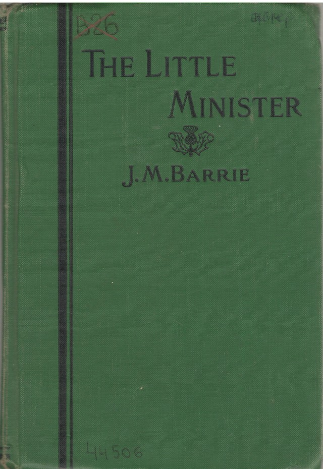 Barrie, J. M. The Littler Minister.-Cleveland- N.Y., 1933
